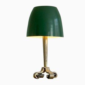 Lámpara de mesa Art Déco de bronce de Raymond Subes, años 30