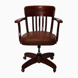 Chaise de Bureau Art Deco, 1920s