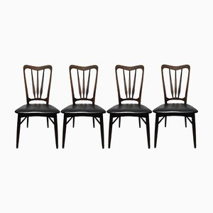 Rio Rosewood Ingrid Chairs by Niels Koefoed for Koefoeds Hornslet, 1960s, Set of 4