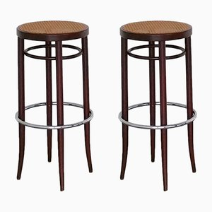 Tabourets de Bar 204 RH de Thonet, 1970s, Set de 2