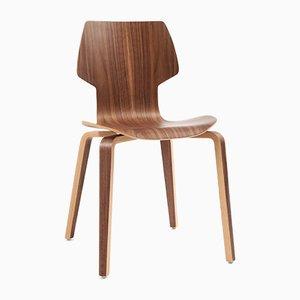 Gràcia Stuhl aus Nussholz von Mobles114