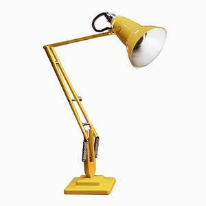 Lámpara Anglepoise amarilla de Herbert Terry, 1935
