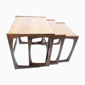 Tavolini impilabili di Victor Wilkins per G-Plan, anni '60