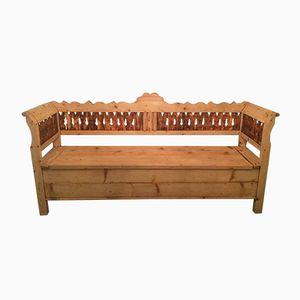 Banc Coffre Antique