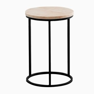Table d'Appoint Ovale Rose par Un'common