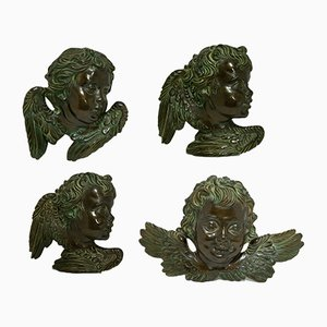 Ceramic Cherubs from Batignani, 1950s, Set of 4