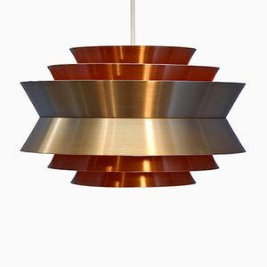 Swedish Trava Pendant by Carl Thore for Granhaga, 1970s