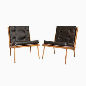 Mid-Century French Lounge Chairs by Georges Tigien, 1960s, Set of 2