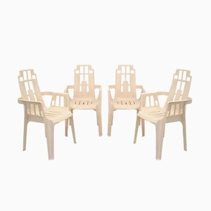 Boston Chair by Pierre Paulin for Herny Massonnet, 1980s, Set of 4