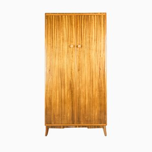 Mid-Century Walnut Wardrobe from Morris of Glasgow