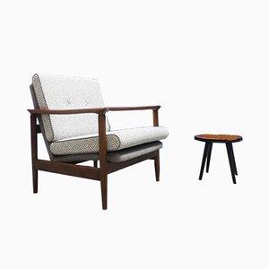 Moderner Mid-Century Armlehnstuhl von Edmund Homa, 1960er