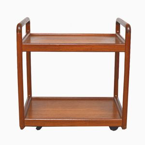 Teak Serving Trolley by Poul Cadovius for Cado, 1960s