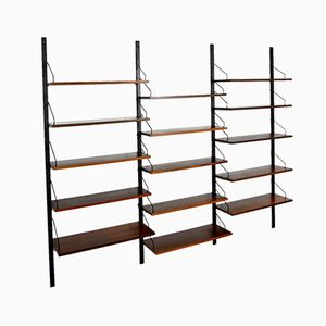 Modular Shelving System in Rosewood by Poul Cadovius, 1960s