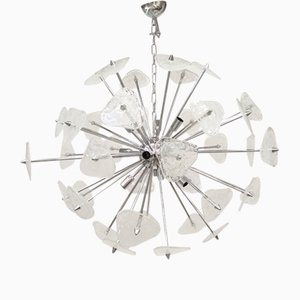 Murano Glass Pulegoso Sputnik Chandelier from Italian light design