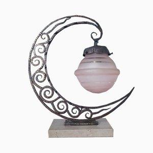 Lámpara de mesa francesa Art Déco