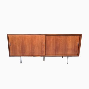 Teak & Walnut Sideboard by Florence Knoll Basset for Knoll Inc., 1970s