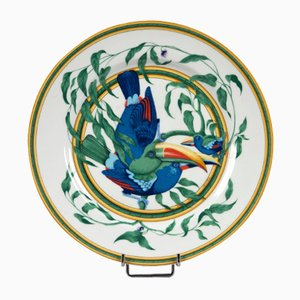 American Toucan Plates from Hermès, 1980s, Set of 6