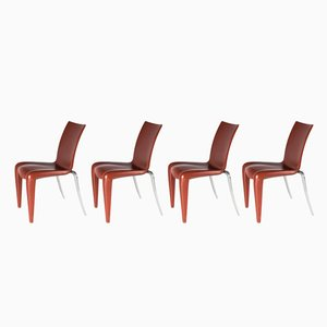 Louis XX Chairs by Philippe Starck for Vitra, 1992, Set of 4