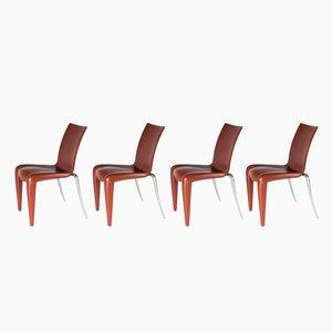 Louis XX Stühle von Philippe Starck für Vitra, 1992, 4er Set