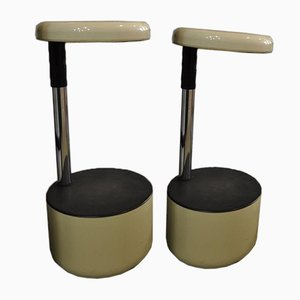 Vintage Italian Golf Stool by Lucci & Orlandini, 1970s
