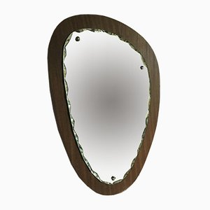 Scandinavian Free Form Mirror, 1960s