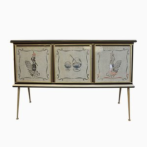 Sideboard by Umberto Mascagni, 1950s