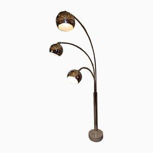 Italienische Stehlampe, 1970er