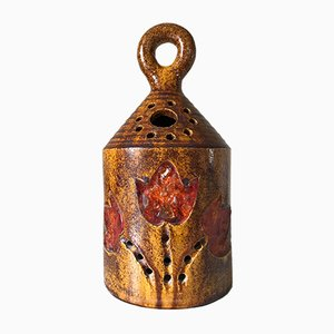 Lámpara de mesa de cerámica y resina de Accolay, años 60