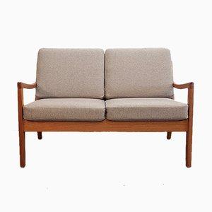 Dänisches 2-Sitzer Sofa von Ole Wanscher, 1960er
