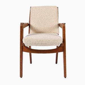 Vintage Modell FS 106 Armlehnstuhl aus Eiche von Pierre Guariche