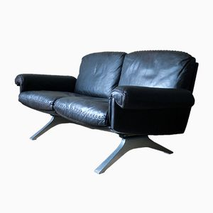 Model DS 31 Dark Brown Leather Sofa from de Sede, 1970s