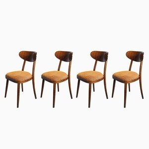 Dining Chairs from TON, 1960s, Set of 4