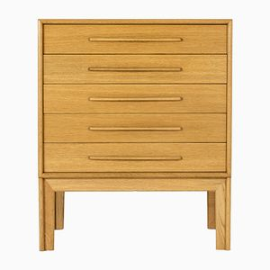 Oak Chest of Drawers by Alf Svensson, 1960s