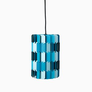 Vintage Facet Pop Pendant Lamp by Louis Weisdorf for Lyfa