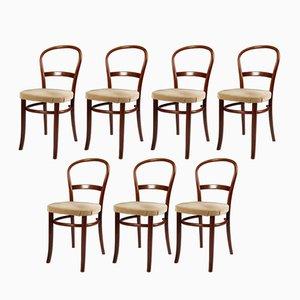 Chaises de Fritz Hansen, 1950s, Set de 7