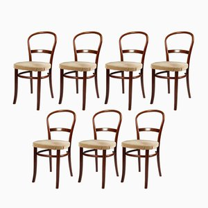 Stühle von Fritz Hansen, 1950er, 7er Set