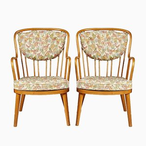 Model 1774 Armchairs by Aage Herman Olsen for Kocks Snickerifabrik, 1945, Set of 2