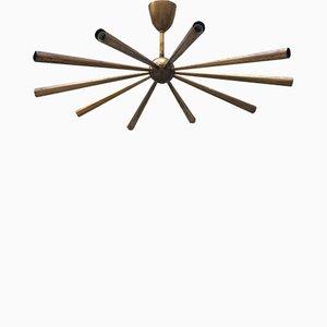 Lámpara de araña Sputnik, años 50