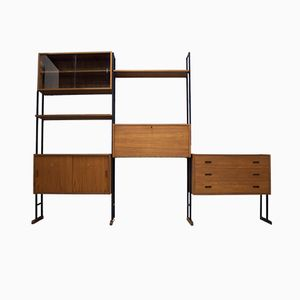 Mid-Century Teak Wall System or Room Divider from Interflex