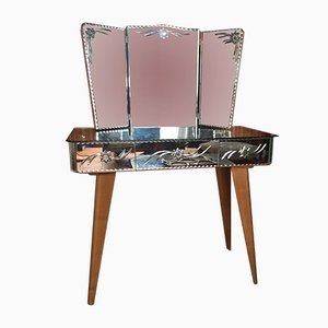 Mirrored Dressing Table, 1960s