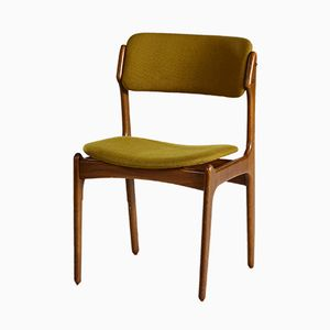 Model 49 Dining Chair by Erik Buch for Oddense Maskinsnedkeri, 1960s