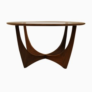 Astro Teak Round Table by Victor Wilkins for G-Plan, 1960s