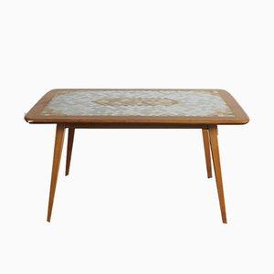 Table Basse avec Plateau en Mosaïque, 1950s