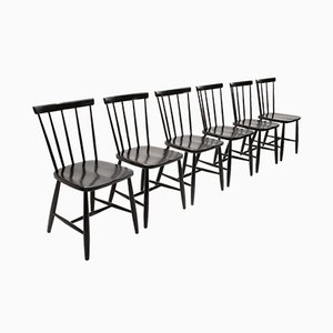 Italian Dining Chairs from Casa Arredo, 1960s, Set of 6