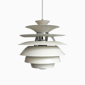 Snowball Pendant Lamp by Poul Henningsen for Louis Poulsen, 1980s