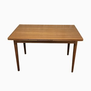 Tavolo da pranzo in teak di Arne Hovmand Olsen per Skovmand & Andersen, anni '60