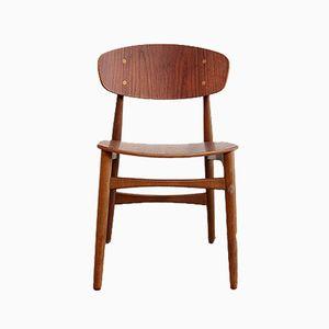 Mid-Century Teak Chair by Børge Mogensen