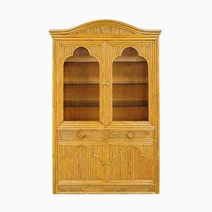 Vintage Dutch Rattan Cabinet, 1970s