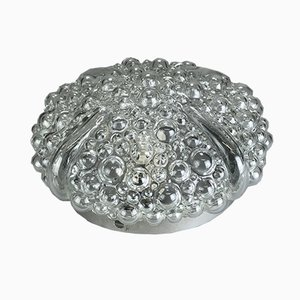 Vintage Space Age Bubble Glass Ceiling Light
