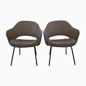 Chaises Conference par Eero Saarinen pour Knoll, 1960s, Set de 2